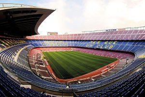 Imágen del Camp Nou